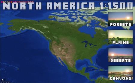 壮大な計画! Minecraftで作られた1:1500スケールの地球