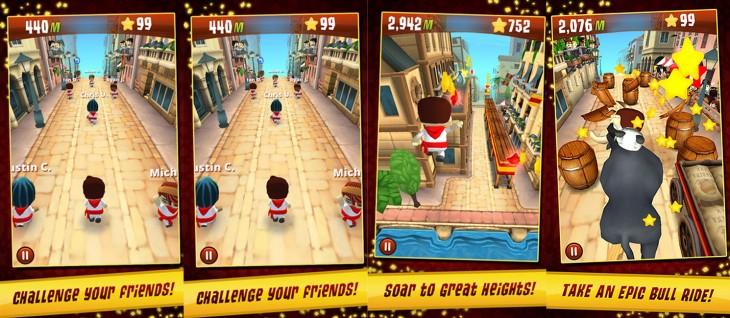 Zynga、スペインの牛追い祭を題材にしたiOS向けゲームアプリ「Running with Friends」をカナダのApp Storeにてリリース