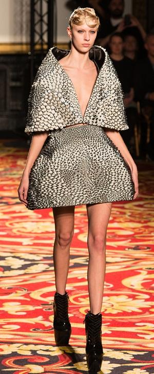 パリ・ファッション・ウィークに3Dプリンタ製の服が登場1