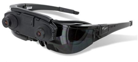 Vuzix、AR対応アイウェア「WRAP 1200AR」を発売
