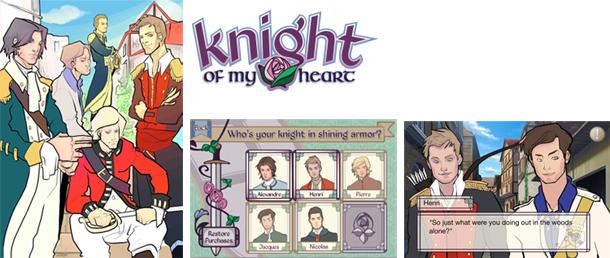 ボルテージ、恋ゲーム「愛を捧ぐ伝説の騎士」の北米仕様・英語版「Knight of My Heart」をリリース