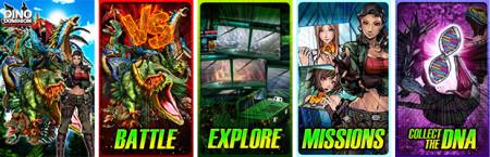 コロプラ、スマホ向け恐竜バトル「恐竜ドミニオン」の英語版「DINO DOMINION」を北米のAmazon Appstoreでも配信2