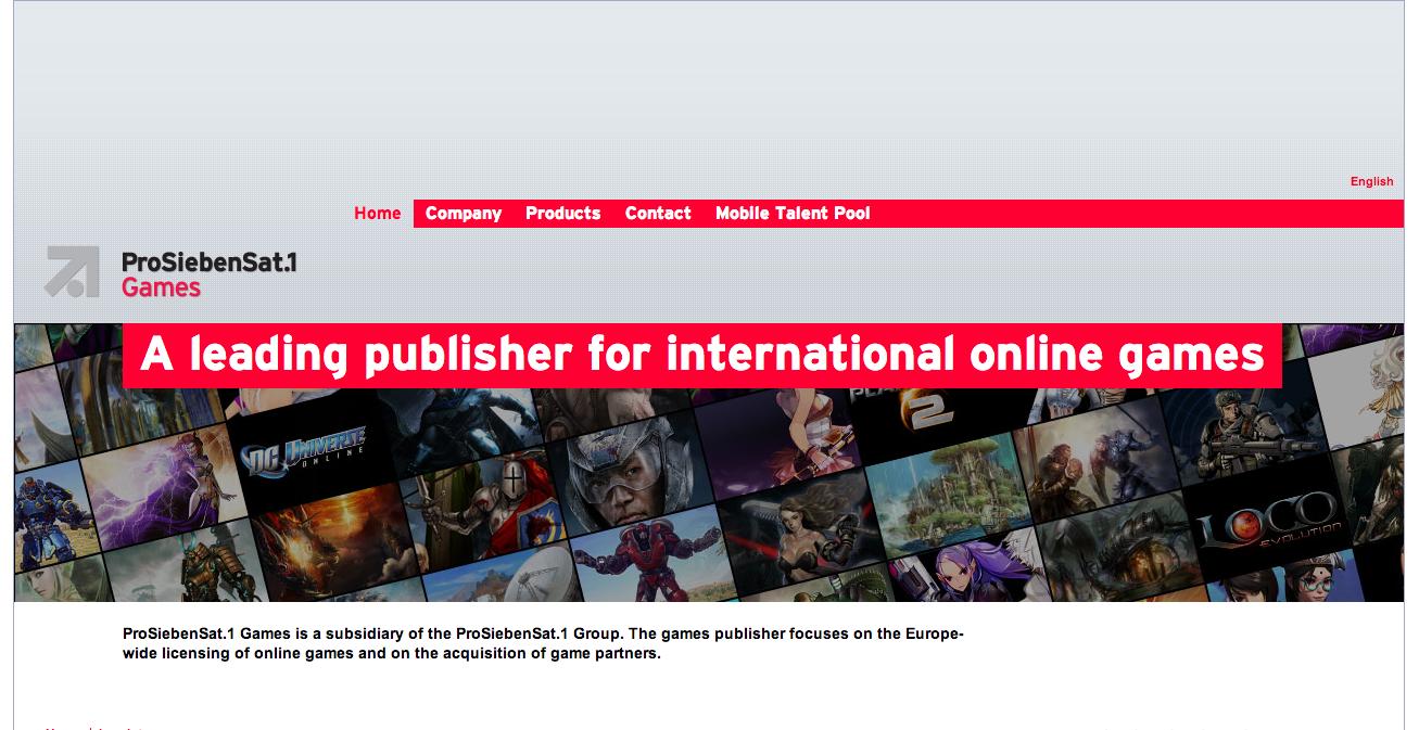 米ソーシャルゲームディベロッパーのKabam、欧州市場参入のためドイツのオンラインゲームパブリッシャーのProSiebenSat.1 Gamesと提携