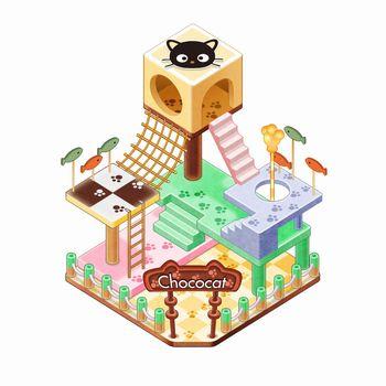 サンリオキャラの遊園地を作るiOS向けゲームアプリ「Hello Kitty World」、100万ダウンロード突破!2