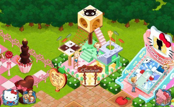 サンリオキャラの遊園地を作るiOS向けゲームアプリ「Hello Kitty World」、100万ダウンロード突破!1