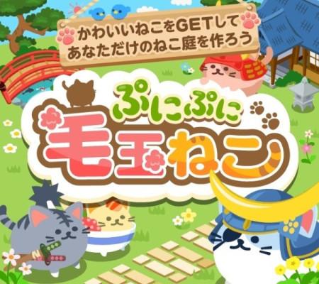 ソニックムーブ、スマホ版Amebaにてソーシャルゲーム「ぷにぷに毛玉ねこ」を提供開始