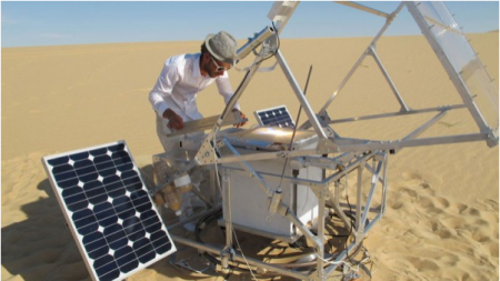MIT Media Lab所属の工業デザイナー、太陽光で動くエコな3Dプリンタを開発1