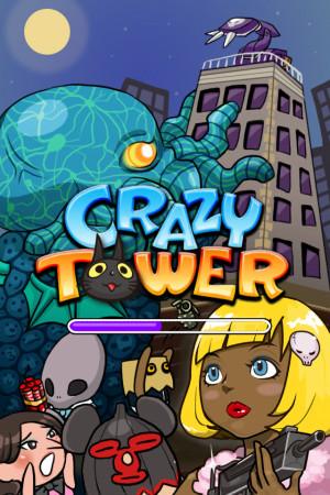 ガンホーのスマホ向けタワー育成ゲームアプリ「CrazyTower」、100万ダウンロード突破!1