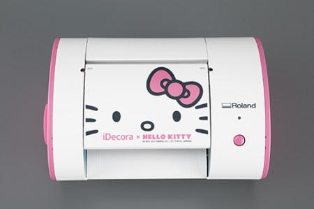 デジタルデコツール「iDecora」とハローキティがコラボ! 「iDecoraハローキティバージョン iD-01(K)」登場!1