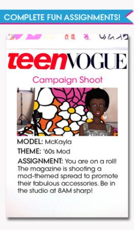 香港のFrenzoo、ティーン女子向けファッション雑誌「Teen Vogue」とコラボしたスマホ向けゲームアプリ2