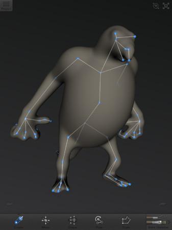 自分でオリジナルのモンスターフィギュアを作ってみよう! Autodesk、iPad向け3Dモデリングアプリ「123D Creature」をリリース3