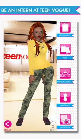 香港のFrenzoo、ティーン女子向けファッション雑誌「Teen Vogue」とコラボしたスマホ向けゲームアプリ1