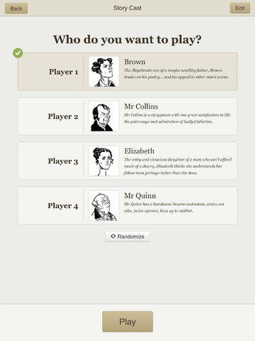 Second Life運営の米Linden Lab、iPad向けノベルゲームアプリ「Versu」をリリース1