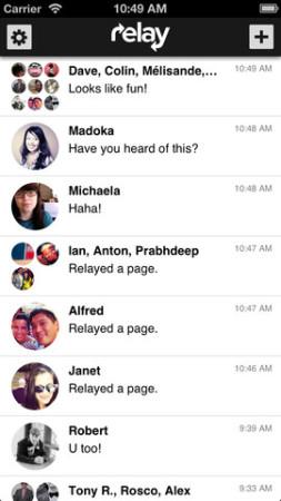 カナダ発のスマホ向けメッセージングアプリ「Relay」、70万ドル資金調達3