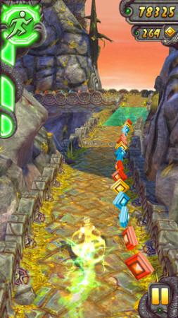 遺跡を駆け抜けるスマホ向けアクションゲーム「Temple Run 2」、リリースから13日で5000万ダウンロード突破!2