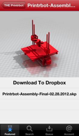 Printrbot、3Dプリンタに必要な情報が全部チェックできるiOSアプリ「Makrz」をリリース2
