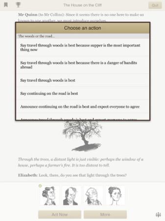 Second Life運営の米Linden Lab、iPad向けノベルゲームアプリ「Versu」をリリース3