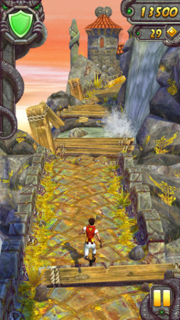 人気Run系ゲームアプリ「Temple Run」シリーズ、5億ダウンロードを突破
