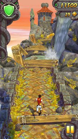 遺跡を駆け抜けるスマホ向けアクションゲーム「Temple Run 2」、リリースから13日で5000万ダウンロード突破!1