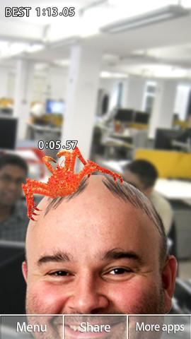 CYDER、ハゲ頭を刺激して毛を生やすiOS向けゲームアプリ「ハゲーヌ」をリリース