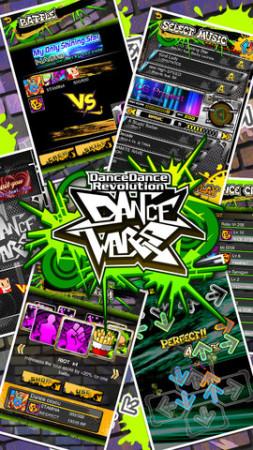 KONAMI、米App StoreにてダンスダンスレボリューションのiOSアプリ版「DDR Dance Wars」をリリース1