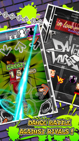 KONAMI、米App StoreにてダンスダンスレボリューションのiOSアプリ版「DDR Dance Wars」をリリース3
