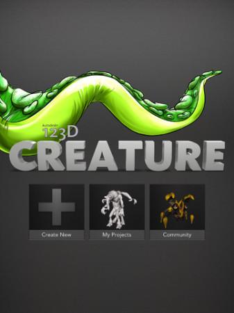 自分でオリジナルのモンスターフィギュアを作ってみよう! Autodesk、iPad向け3Dモデリングアプリ「123D Creature」をリリース1