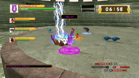 PlayStation Homeにペット育成・協力型バトルラウンジ「peakvox monster」をオープン3