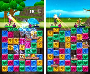 コロプラ、スマホ向けパズルロールプレイングゲーム「パズル de バトル!」のAndroid版をリリース3