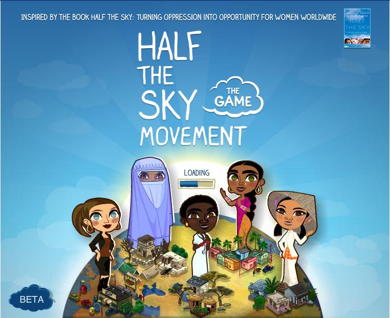 ソーシャルゲームをプレイして世界中の女性の地位向上を助けよう---「Half the Sky Movement: The Game」1