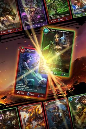 Zynga、スマホ向けカードバトルゲーム「War of the Fallen」を開発中2