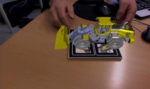 3Dプリンタで作ったAR対応パズル---ARマーカーごとフルカラー出力