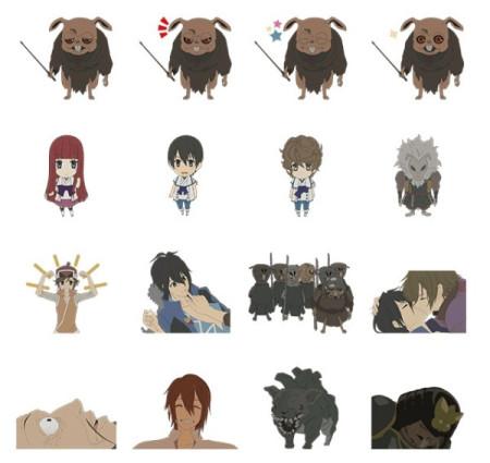 DeNA、スマホ向けメッセージングアプリ「comm」にてアニメ「新世界より」の無料スタンプを提供開始2