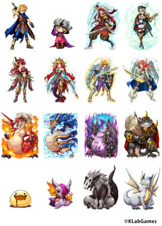 KLab、Mobgeにて王道カードバトルゲーム「ドラゴングランド~モンスターと勇者たち~」を提供開始2