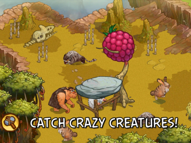 Rovio、ドリームワークスの新作映画 「ザ・クルッズ」のスマホ向けゲームを3/14にリリース!3