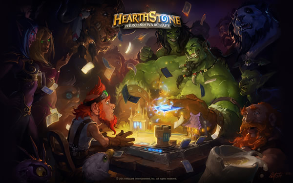 Blizzard Entertainment、オンライン対戦カードゲーム「Hearthstone: Heroes of Warcraft」の有名プレイヤー・LIFECOACH氏をゲストに迎えたイベントを5/15に開催