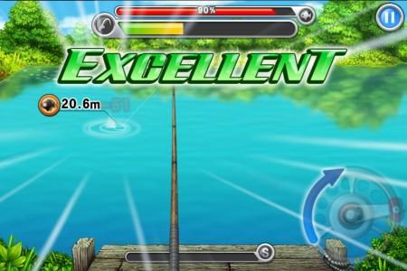 LINE GAMEに釣りゲーが登場! リアルな釣り体験が楽しめる 釣りアクションゲーム「LINE 釣り★マス」リリース!1