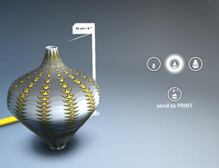仮想の陶芸を現実の陶芸へ---スマホ向け陶芸シミュレーションアプリ「Let's Create! Pottery」、作品の3Dプリント出力サービスを開始2