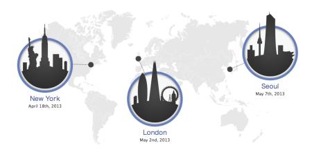 Facebook、ニューヨーク、ロンドン、ソウルにて「Mobile DevCon 2013」を開催