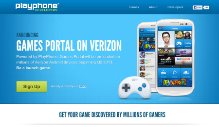 米Verizon、Android向けソーシャルゲームプラットフォーム「Games Portal」を提供