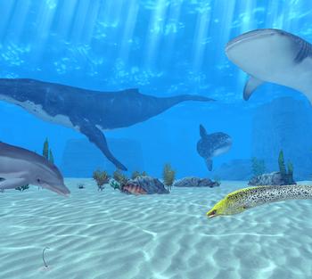 LINE GAMEに初のフル3Dゲームが登場! 海底遊泳が楽しめる「LINE EASY DIVER」をリリース