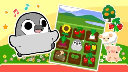 """ドリコム、農園ソーシャルゲーム「ちょこっとファーム」にてペンギンキャラ""""ぺそぎん""""とコラボ!"""