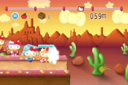 8bitなキティがかわいい! バンダイナムコゲームス、今春にスマホ向けアクションゲーム「ハローキティRun!Run!Run!」を提供決定! 事前登録を受付中2