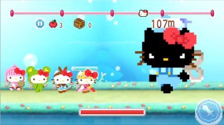 8bitなキティがかわいい! バンダイナムコゲームス、今春にスマホ向けアクションゲーム「ハローキティRun!Run!Run!」を提供決定! 事前登録を受付中3