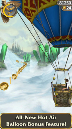 ディズニー、映画「オズ はじまりの戦い」のスマホ向けゲームアプリ開発のため再度「Temple Run」とコラボ3