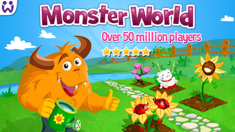 ドイツのソーシャルゲームディベロッパーのWooga、ヒットタイトル「Monster World」のスマホ版をリリース1