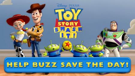 ディズニー、「トイ・ストーリー」のバズが主役のスマホ向けアクションパズルゲーム「Toy Story: Smash It!」をリリース1
