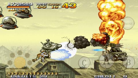 SNKプレイモア、iOS/Android版メタルスラッグシリーズ第4弾「メタルスラッグX」をリリース!1