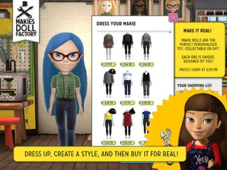 3Dプリンタ製ドール製作の「Makies」、iPadで人形のデータをモデリングできるアプリ「Makies Doll Factory」をリリース2
