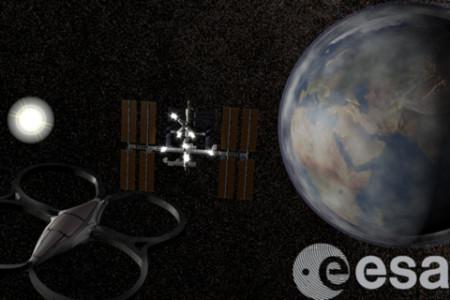 欧州宇宙機関、ARラジコンヘリ「Parrot AR.Drone 2.0」用のゲームアプリ「Astro Drone」をリリース1